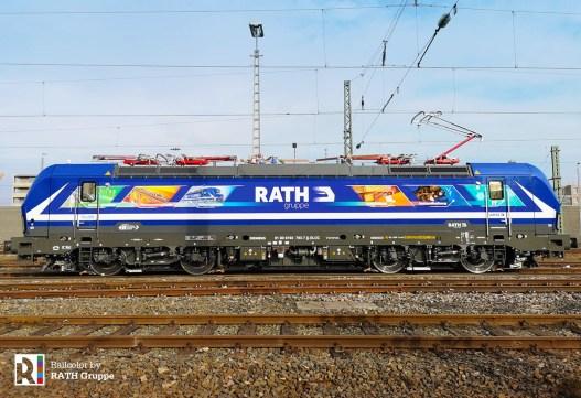 RATH Gruppe > RTB Cargo 193 793 on 21.02.2019 - Photo: RTB Cargo