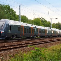 [NO / Expert] Bi-mode Flirt for Norske Tog leaving the Stadler factory