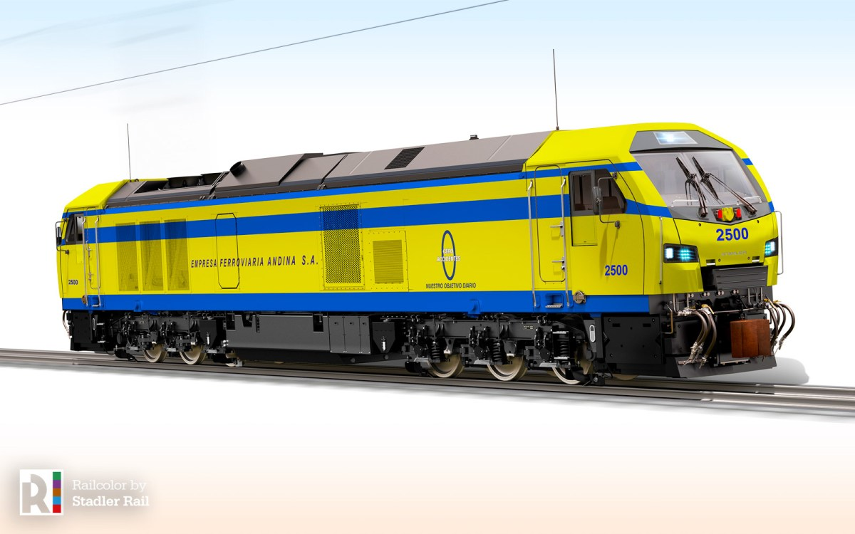 [BO] Exotic: Stadler is the first European manufacturer to sell locomotives in Bolivia