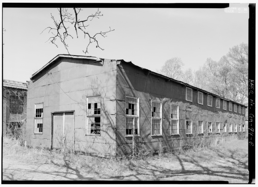 3-4_VIEW_OF_PATTERN_WAREHOUSE_LOOKING_NORTHEAST_-_Glover_Machine_Works,_651_Butler_Street,_Marietta,_Cobb_County,_GA_HAER_GA,34-MARI,2-6