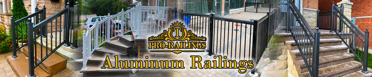 INSTALLATION OF ALUMINUM RAILINGS in Toronto and GTA