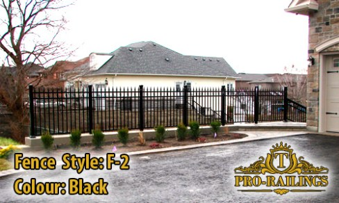 TorontoProRailings-Aluminum-Fence-Style-F-2-Colour-Black