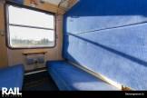 Coupe voor 6 personen, zitplaatsen zijn om te bouwen tot comfortabele ligplaatsen.