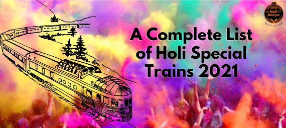 Holi Special Train List 2021