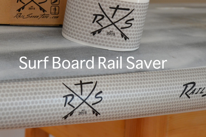 Surf Board Rail Saver