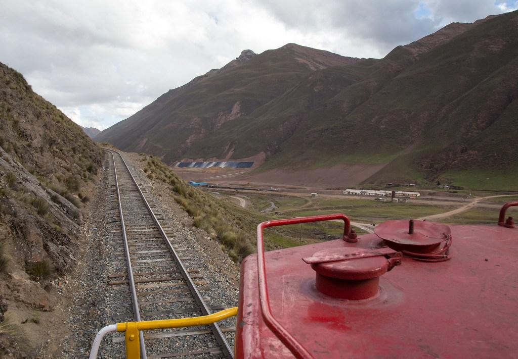 Peruvian Railway ghost town