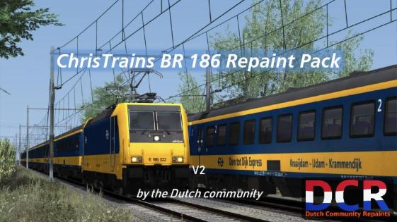 BR 186 Traxx repaint pack