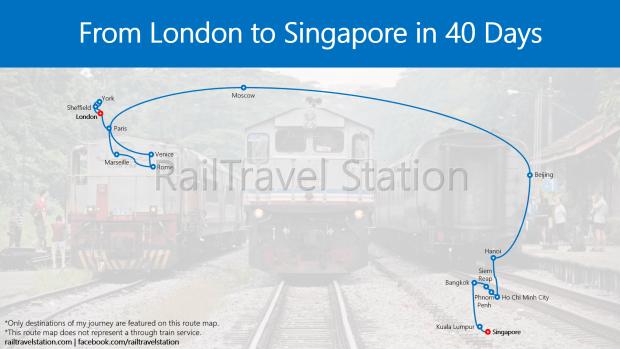 From London to Singapore by Train in 40 Days - RailTravel Station