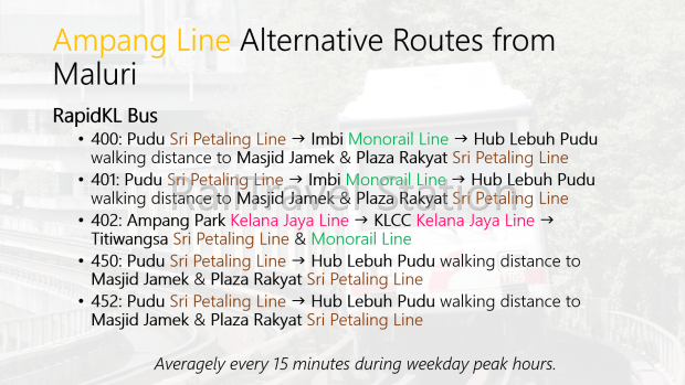 Ampang Line Alternative Routes Maluri.png