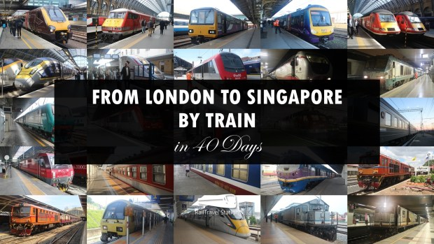 London to Singapore Montage Text Box