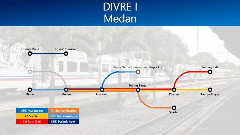 TRAINS1M2 Divre I Medan Temp