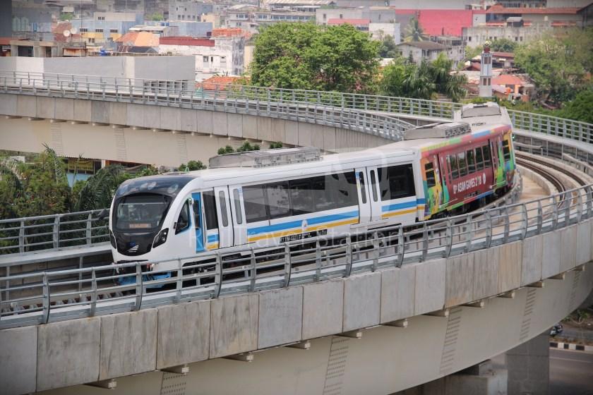 Palembang LRT Exterior 16