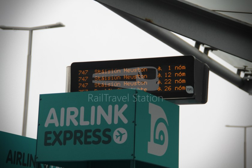 Airlink Express 747 Dublin Airport Heuston Railway Station 009