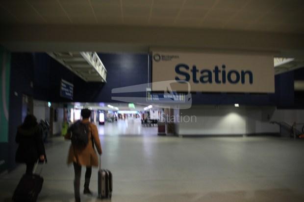 Birmingham Airport AirRail Link Airport Railway Station 015