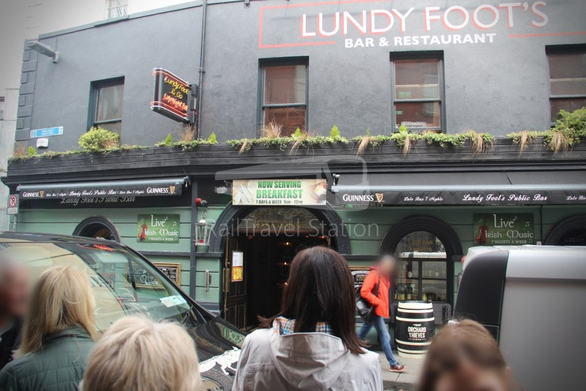 Dublin Yellow Umbrella Free Walking Tours South Side 031