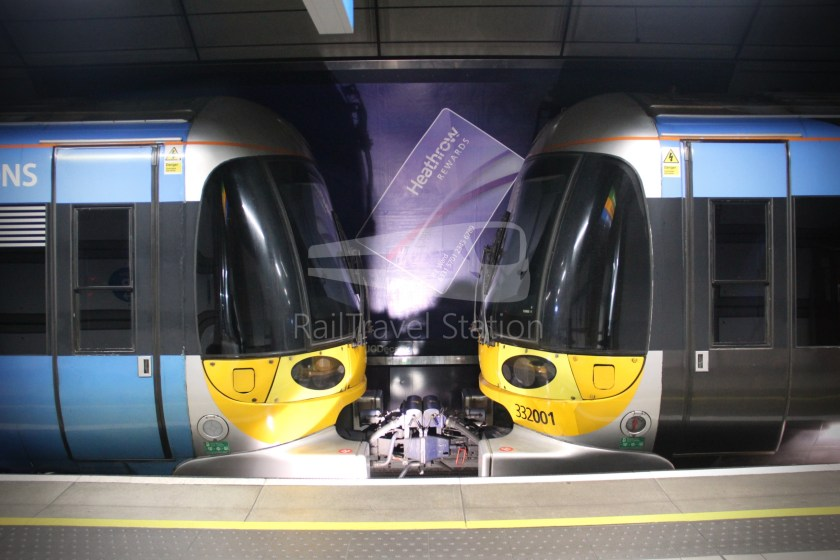 Heathrow Express TfL Rail Terminal 5 Terminal 4 023
