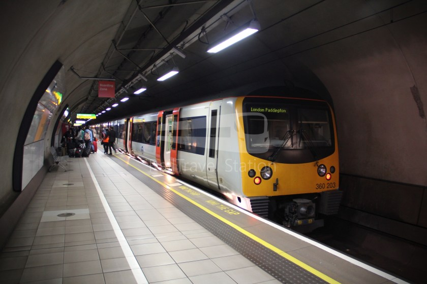 Heathrow Express TfL Rail Terminal 5 Terminal 4 030