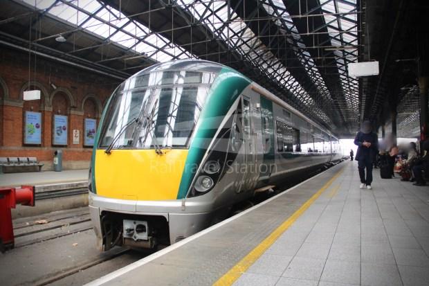 IE Irish Rail 22000 Class InterCity Railcar Exploration 003