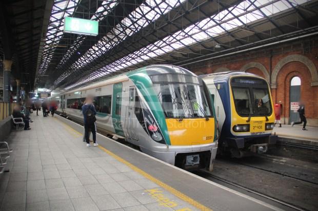 IE Irish Rail 22000 Class InterCity Railcar Exploration 005