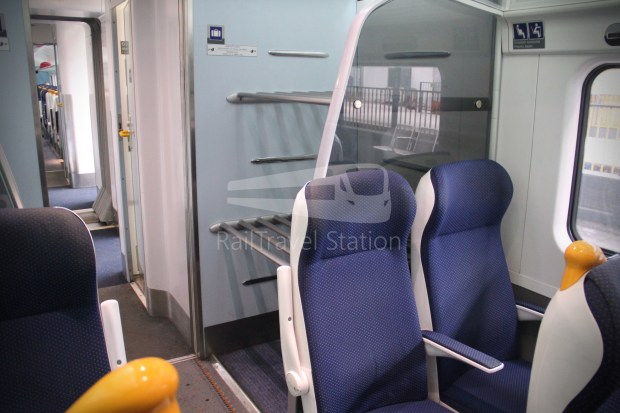IE Irish Rail 22000 Class InterCity Railcar Exploration 009