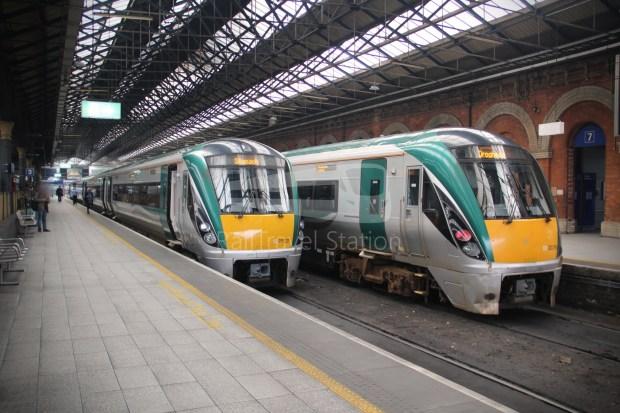 IE Irish Rail 22000 Class InterCity Railcar Exploration 038