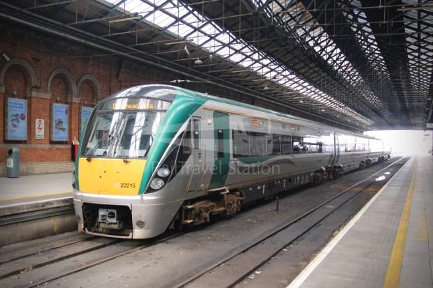 IE Irish Rail 22000 Class InterCity Railcar Exploration 044
