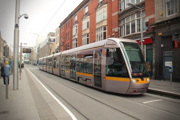 Luas Red Line Abbey Street Connolly Railway Station 001