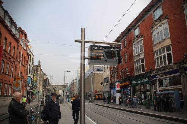 Luas Red Line Abbey Street Connolly Railway Station 002