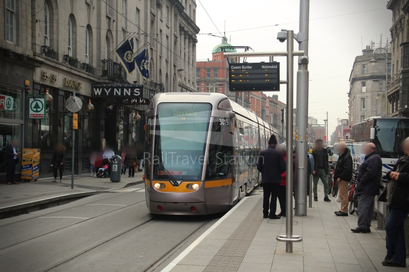 Luas Red Line Abbey Street Connolly Railway Station 003