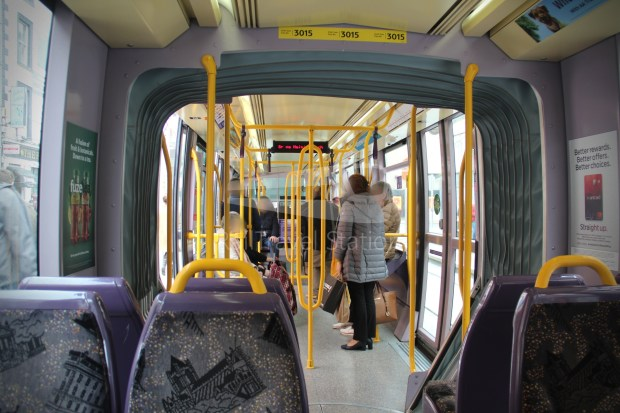 Luas Red Line Abbey Street Connolly Railway Station 005