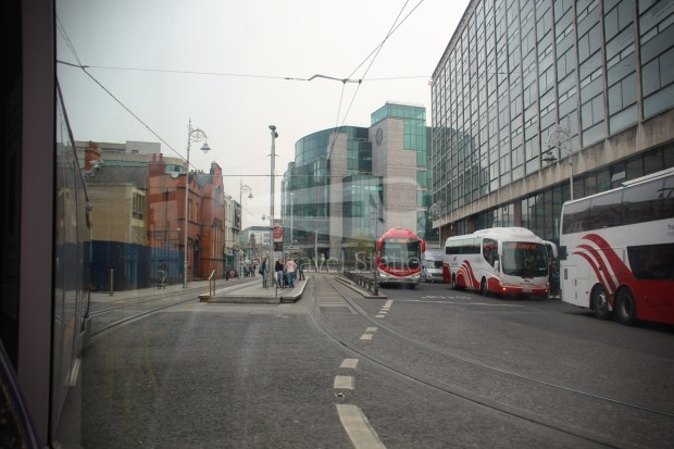Luas Red Line Abbey Street Connolly Railway Station 009