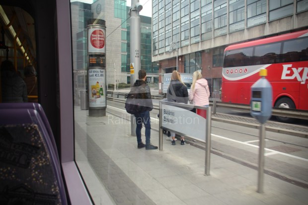 Luas Red Line Abbey Street Connolly Railway Station 010