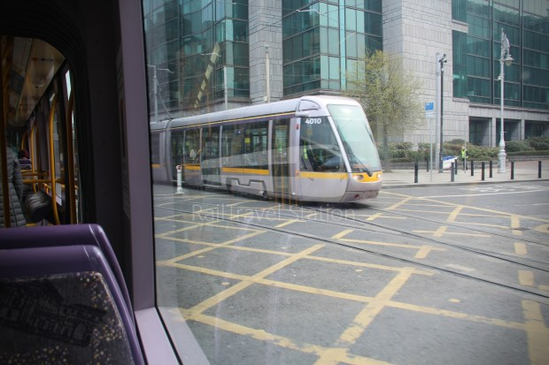 Luas Red Line Abbey Street Connolly Railway Station 011