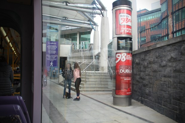 Luas Red Line Abbey Street Connolly Railway Station 016