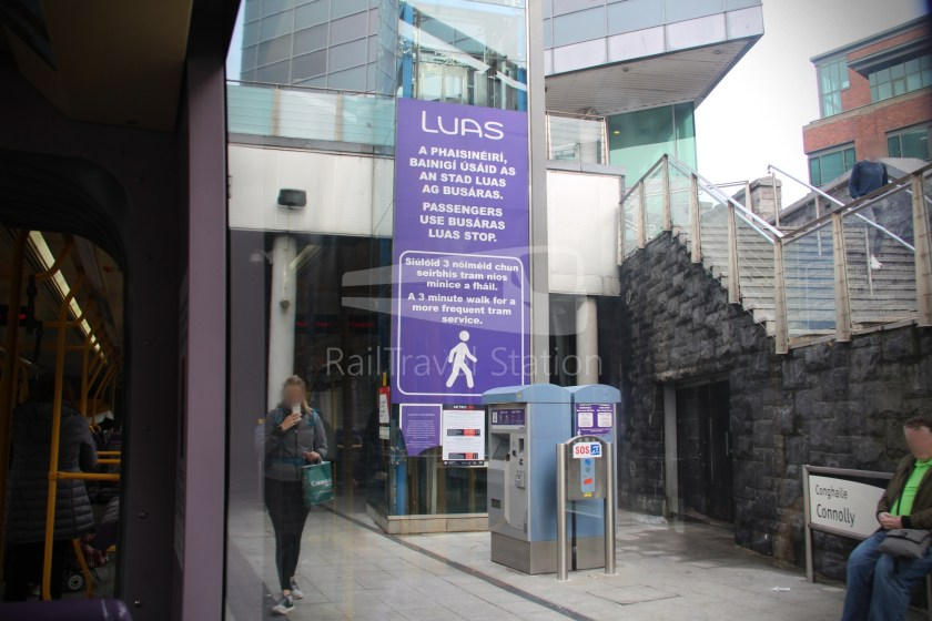Luas Red Line Abbey Street Connolly Railway Station 017