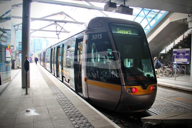 Luas Red Line Abbey Street Connolly Railway Station 020