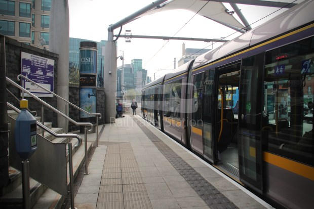 Luas Red Line Abbey Street Connolly Railway Station 021