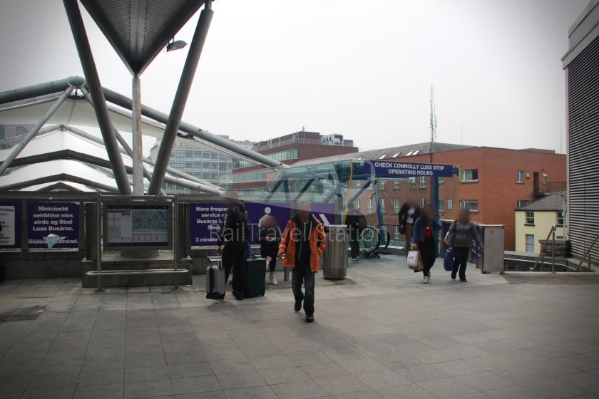 Luas Red Line Connolly Railway Station Heuston Railway Station 001
