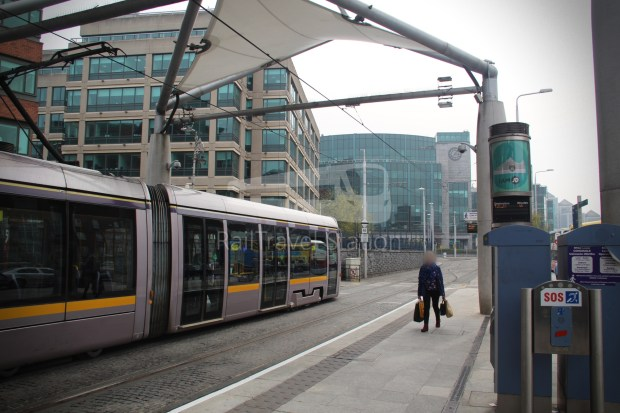 Luas Red Line Connolly Railway Station Heuston Railway Station 003