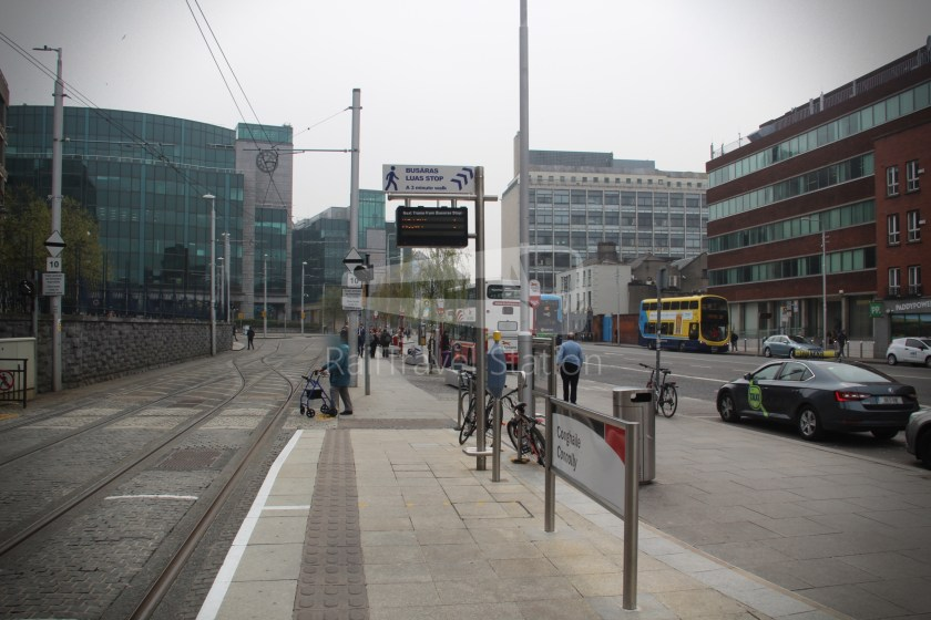 Luas Red Line Connolly Railway Station Heuston Railway Station 004