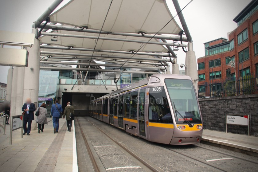 Luas Red Line Connolly Railway Station Heuston Railway Station 006