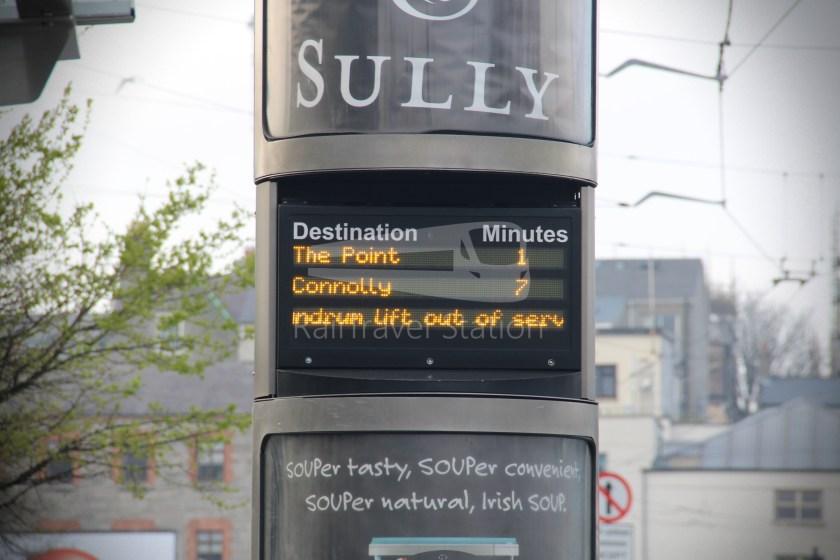 Luas Red Line Heuston Railway Station Smithfield 008
