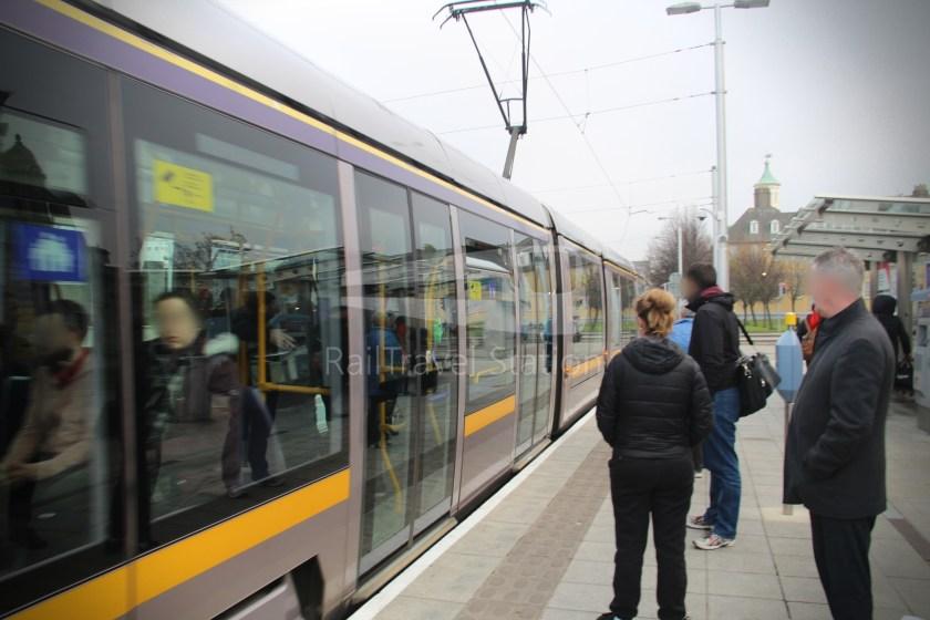 Luas Red Line Heuston Railway Station Smithfield 014