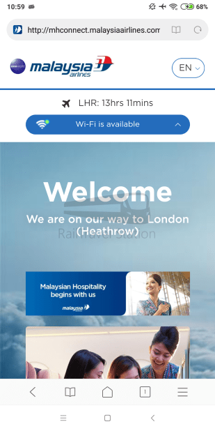 Malaysia Airlines MH4 KUL LHR WiFi 002