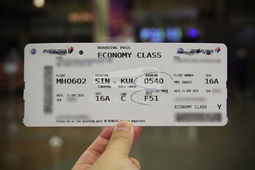 Malaysia Airlines MH602 SIN KUL for LHR 006