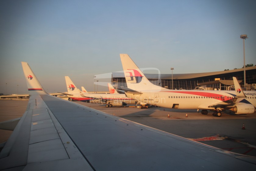 Malaysia Airlines MH602 SIN KUL for LHR 084