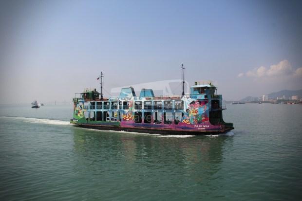 Rapid Ferry Georgetown Penang Sentral 011