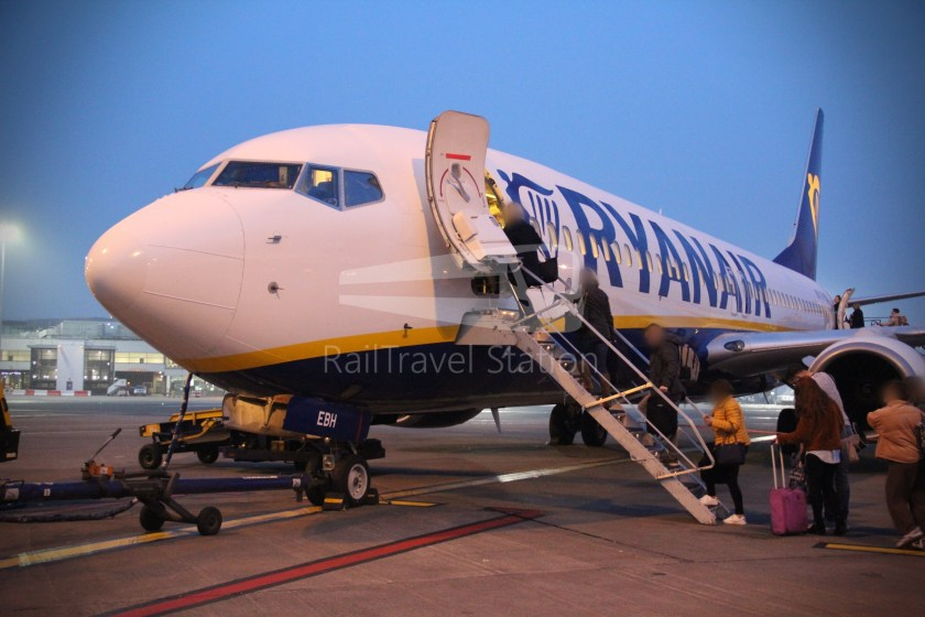 Ryanair Rail And Fly