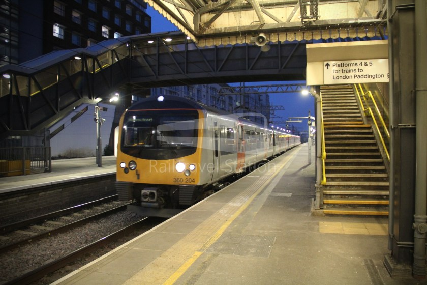 TfL Rail GWR Heathrow Terminal 4 Oxford 017