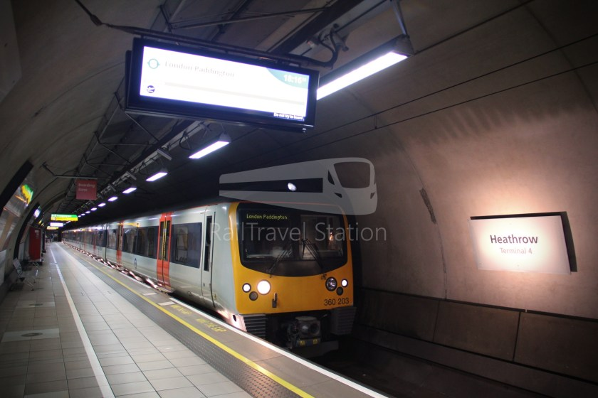 TfL Rail Heathrow Express Terminal 4 Terminal 5 020